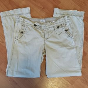 American Eagle tan khaki pants